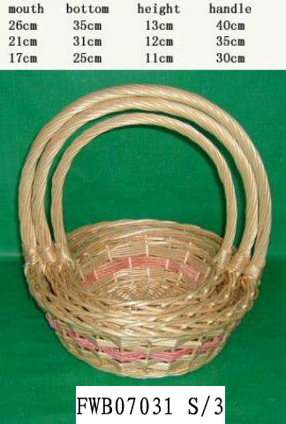 Flower Basket 03 (SIX PRODUCT) Fw070310