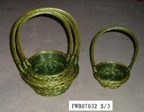 Flower Basket 03 (SIX PRODUCT) Fw070311