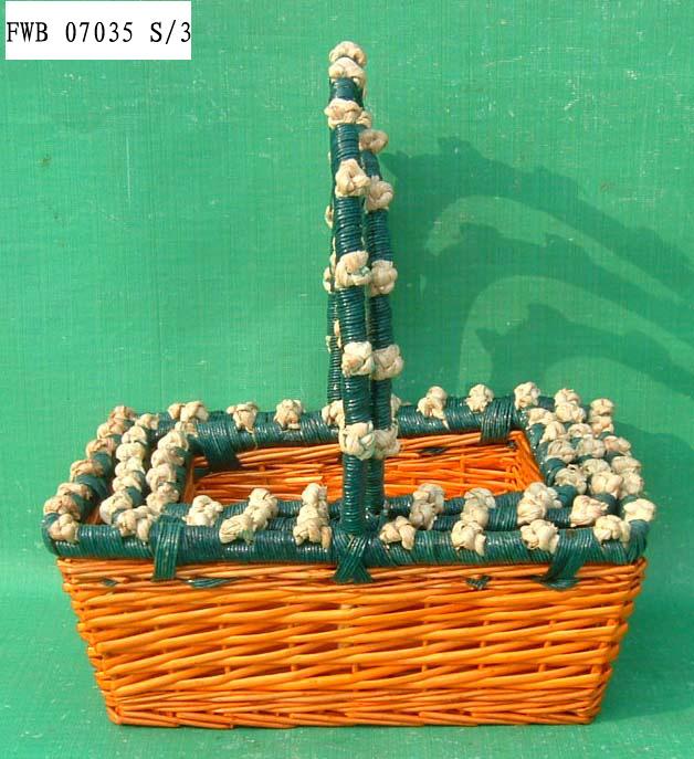 Flower BASKET 04 (THREE PRODUCT) Fw070314
