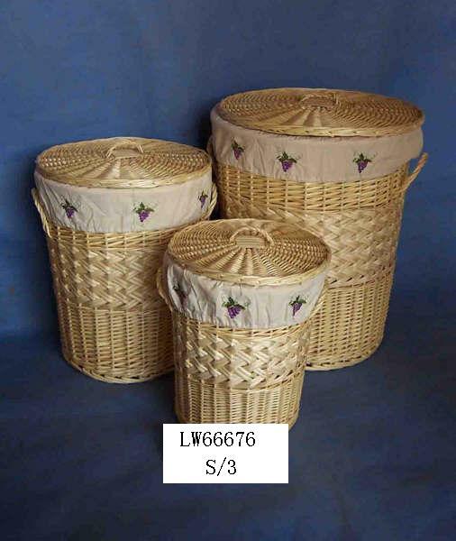 LAUNDRY BASKET 06 (TWELVE PRODUCT) Lwb07014