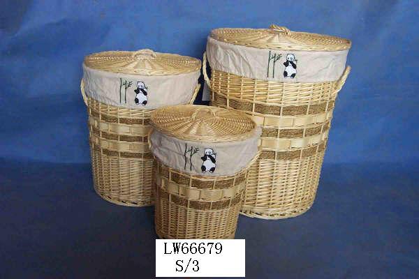LAUNDRY BASKET 06 (TWELVE PRODUCT) Lwb07017