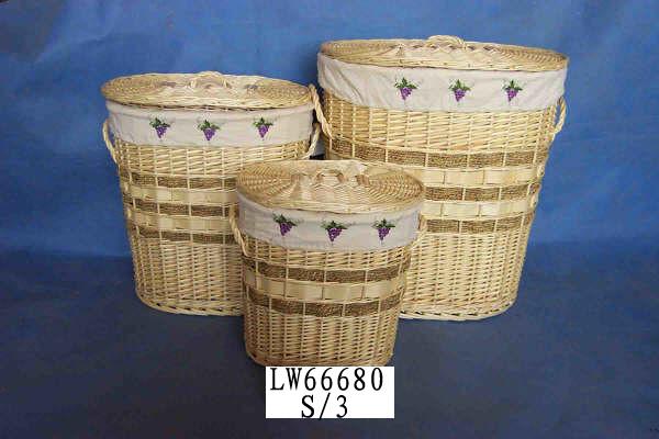 LAUNDRY BASKET 06 (TWELVE PRODUCT) Lwb07018