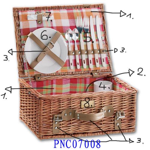 PICNIC BASKET 01 (EIGHT ORODUCT) Pn070010