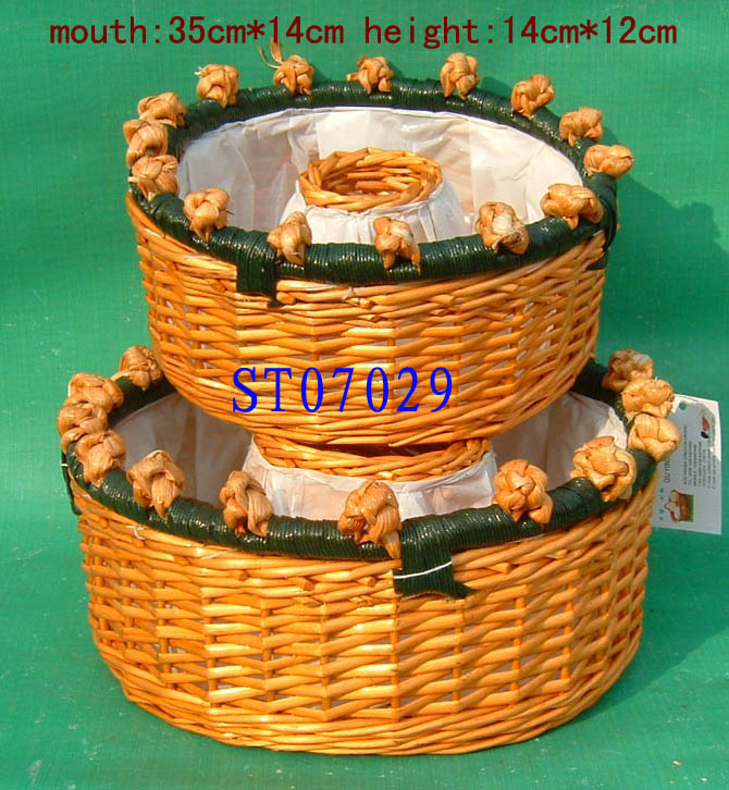 STORGAGE BASKET 03 ( EIGHT PRODUCT) St070211