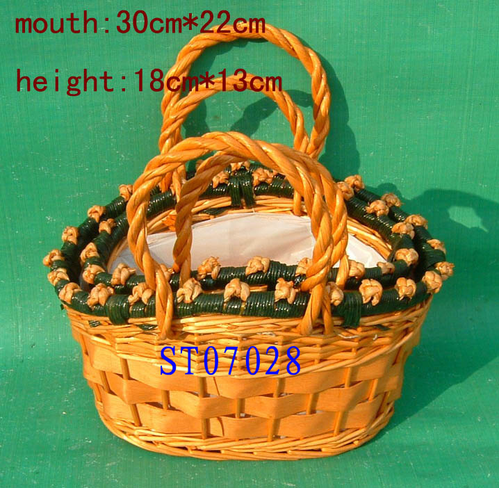 STORGAGE BASKET 03 ( EIGHT PRODUCT) St070213