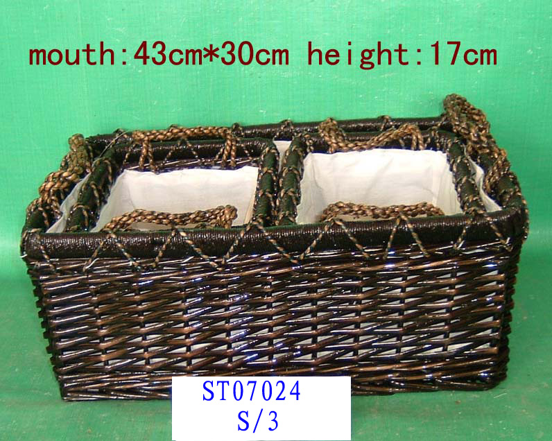 STORGAGE BASKET 03 ( EIGHT PRODUCT) St070214