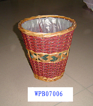WASTE PAPER BASKET 10 (six PRODUCT) Wpb07013