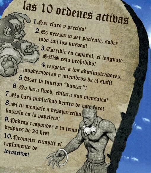 Normas Generales Del Foro. Reglas10