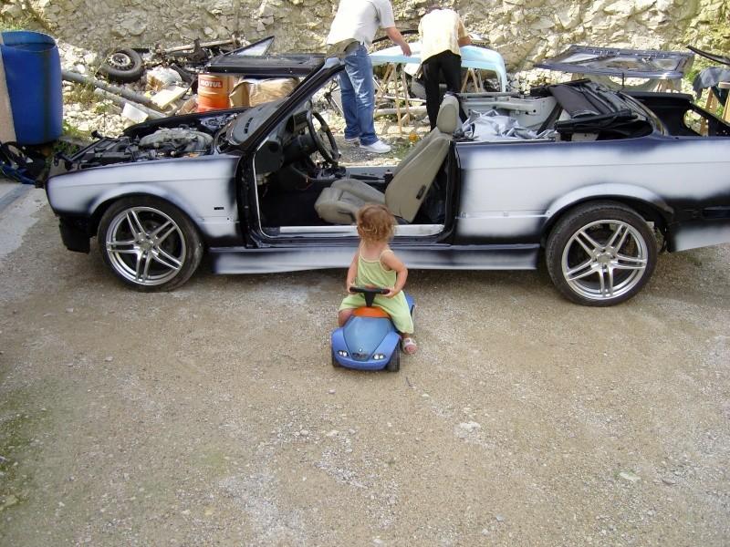 325i E30 cabriolet en restauration Snc10113
