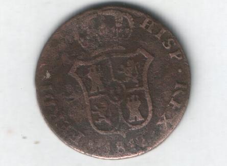 2 monedas de III Quartos de Fernando VII (1812 d.C) Iiiqua15