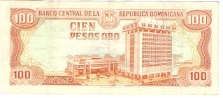 Billetes República Dominicana 100_pe11
