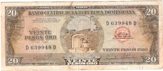 Billetes República Dominicana 20_pes10