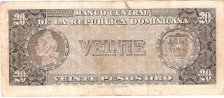 Billetes República Dominicana 20_pes11