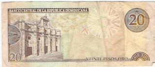 Billetes República Dominicana 20_pes13
