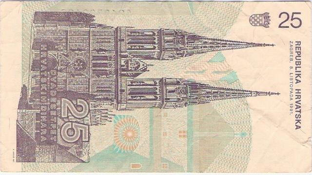 Croacia 1991 25_din11