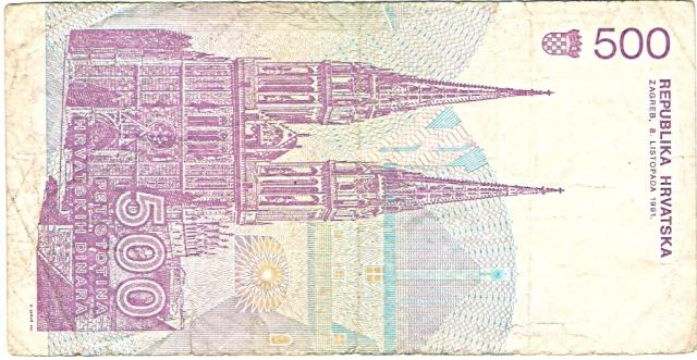 Croacia 1991 500_di11