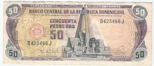 Billetes República Dominicana 50_pes10