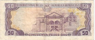 Billetes República Dominicana 50_pes11