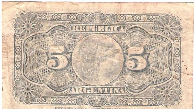 Argentina 1891 5_cent11