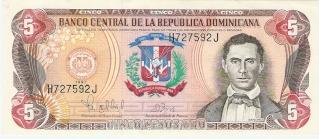 Billetes República Dominicana 5_peso12