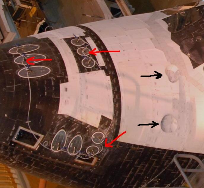 Dans le nez de la navette spatiale Nez_na10