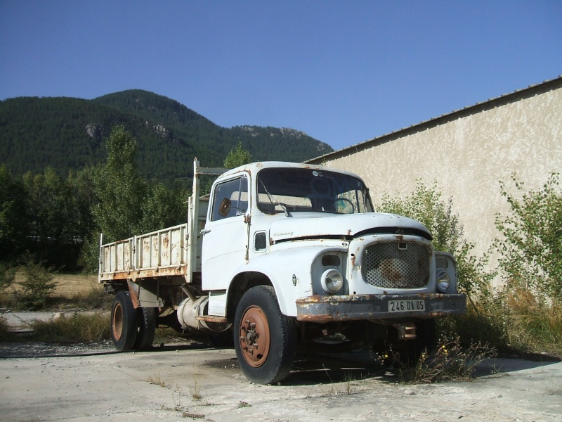 Utilitaires et poids-lourds  non Citroën ... Epaves11