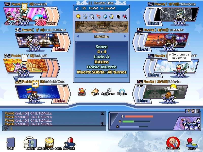 FreeV€ Vs FoxV€ (Foto) Gunbou13