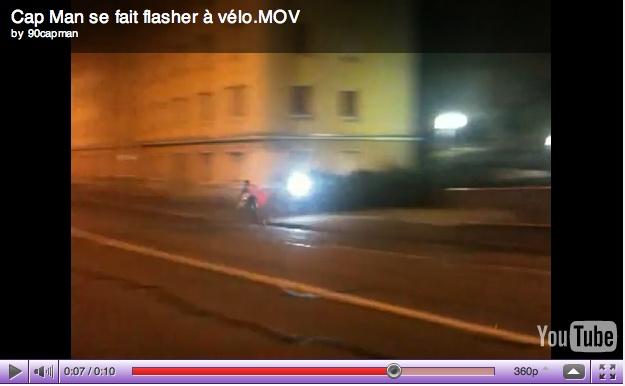 Inutile : Cap man, l'homme qui se fait flasher à vélo ! Capman10