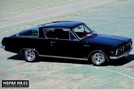 Plymouth Barracuda 1965 V8 273ci (4,5L) 180ch Plymou10