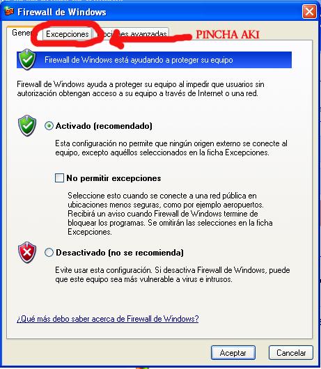 COMO PERMITIR GAMESPY Y COMANDOS 3 EN EL FIREWALL 0410