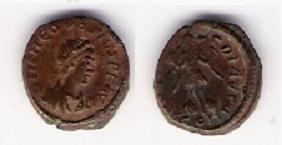 AE4 de Teodosio I. VICTORIA AVGGG Teodos10