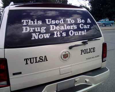 Polisi Mengunakan Kendaraan Hasil Rampasan? 07080710