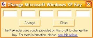 Merubah windows XP bajakan menjadi Genuine / ASLI Key10