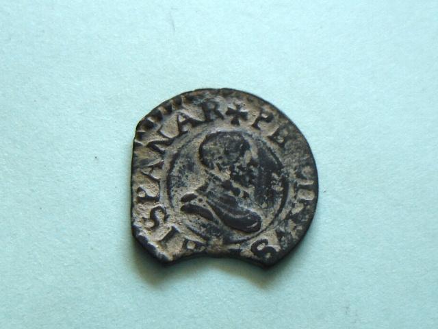 Dinero de Felipe III (Vic, 1611 d.C) 2007_113