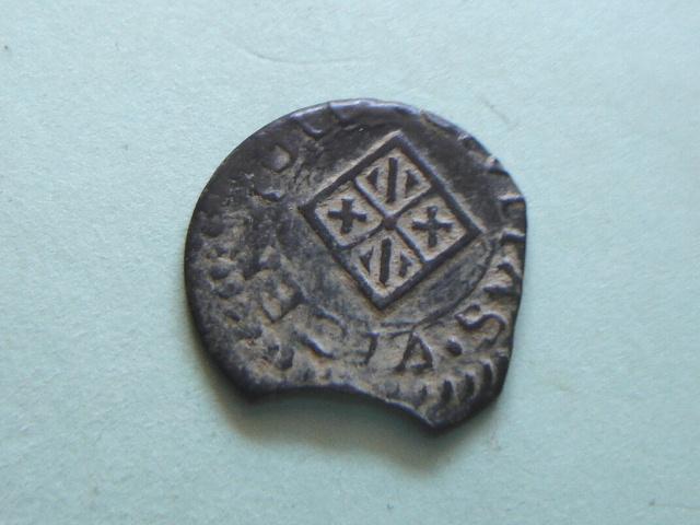 Dinero de Felipe III (Vic, 1611 d.C) 2007_115