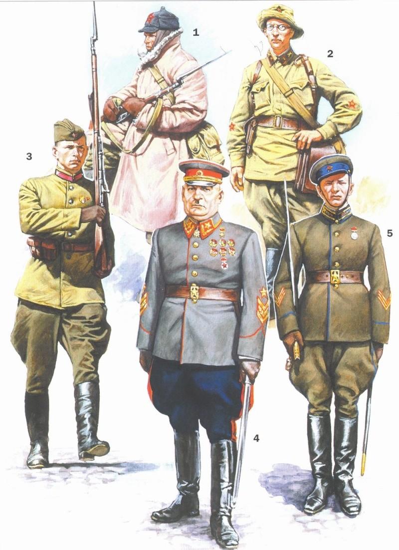 Uniformes del Ejército Rojo Pic110