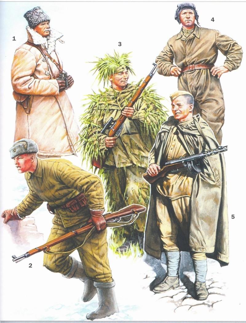 Uniformes del Ejército Rojo Pic210