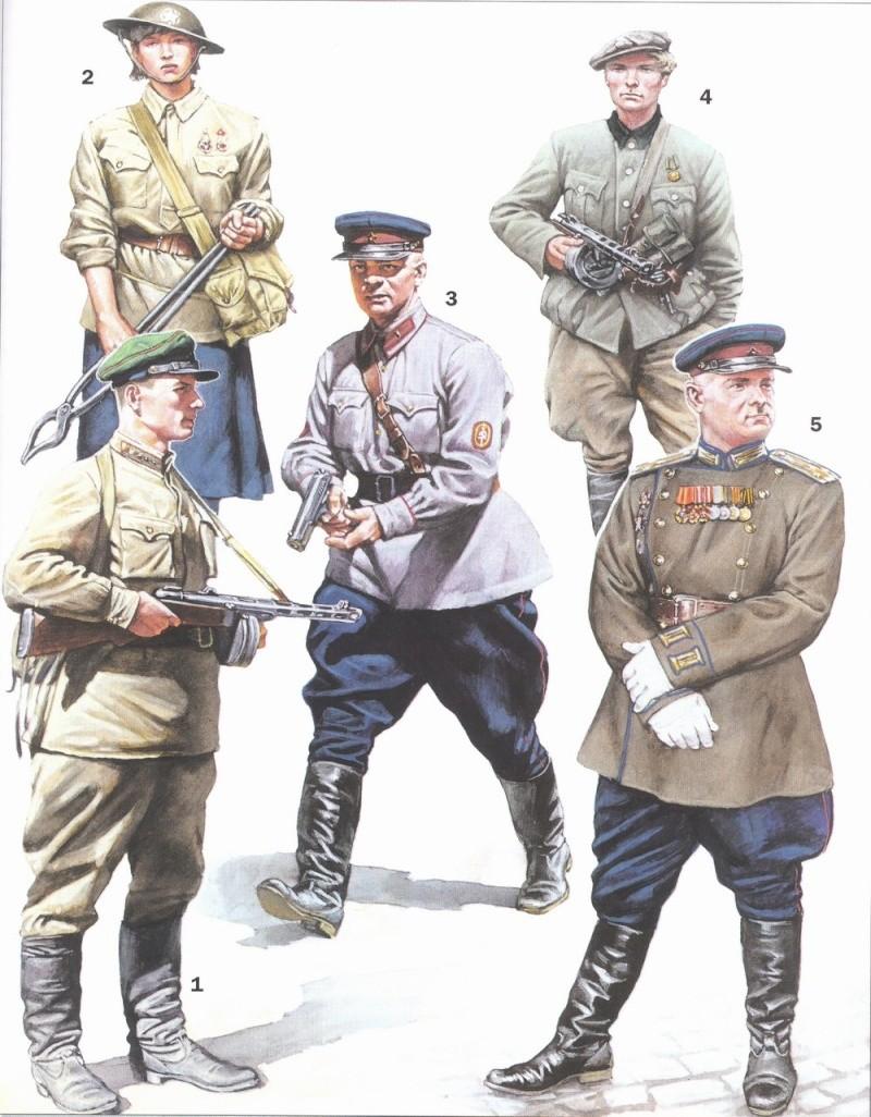 Uniformes del Ejército Rojo Pic510