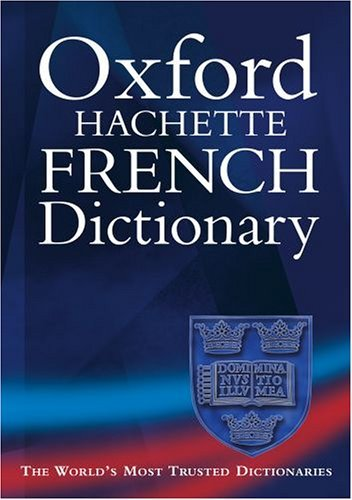 The Oxford-Hachette French Dictionary 01204910