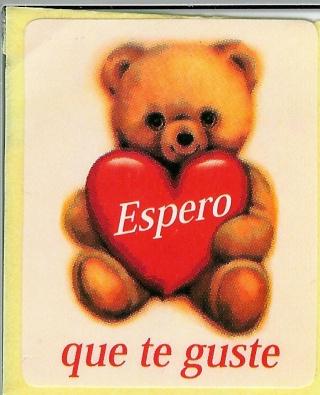 BIENVENID@S AMIGOS- UN SALUDO Osito_11