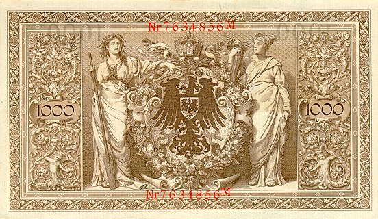 billet reich banknote Ger04510