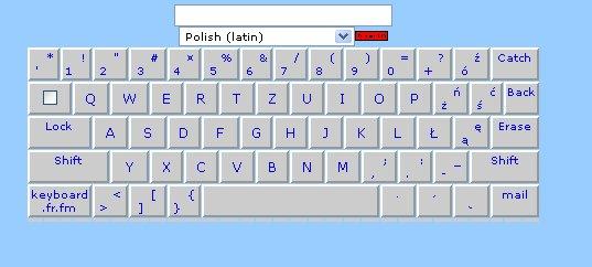 Claviers polonais en ligne et à télécharger ... Clavie14