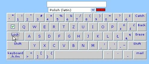 Claviers polonais en ligne et à télécharger ... Clavie15