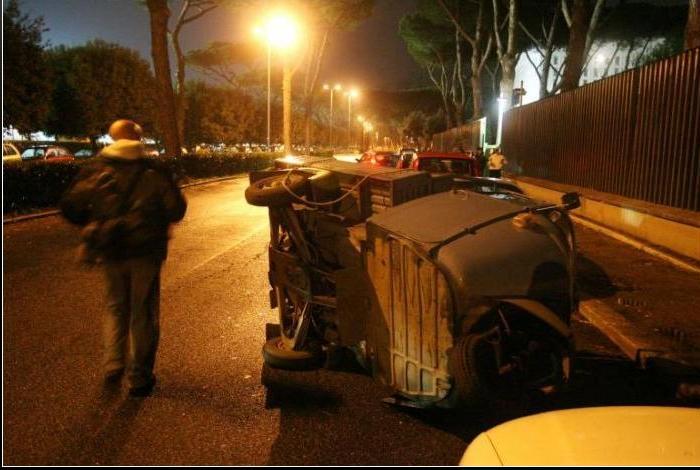 Muere un seguidor de la Lazio tras un disparo Dibujo24