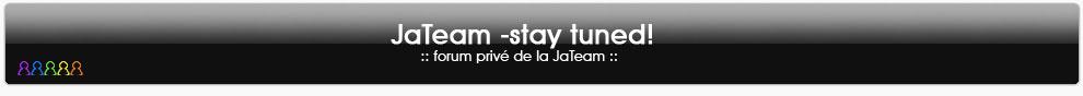 JaTeam  -stay tuned! Logo10