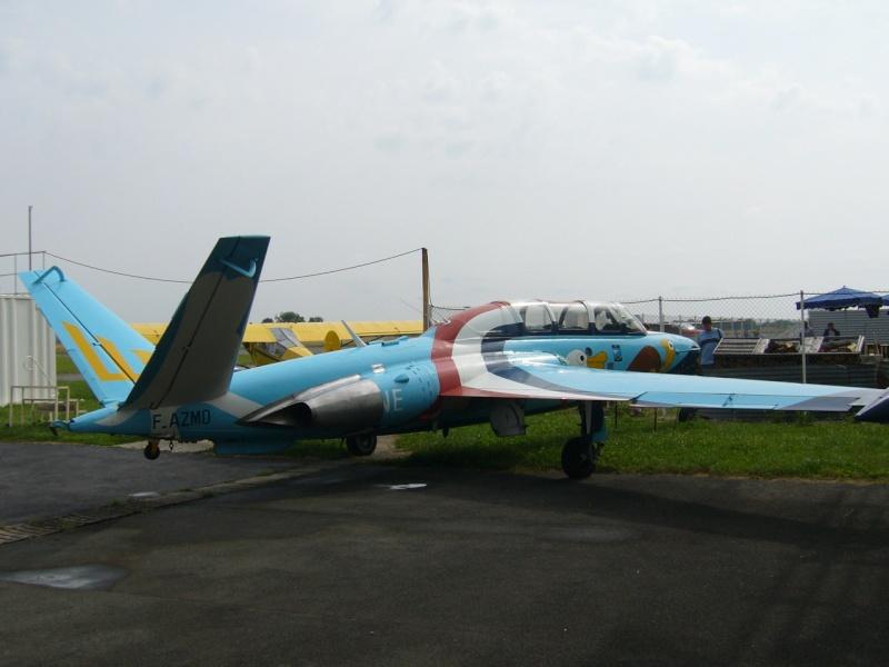 Photos d'un Fouga/zéphyr à la déco spéciale à Bergerac P1030410