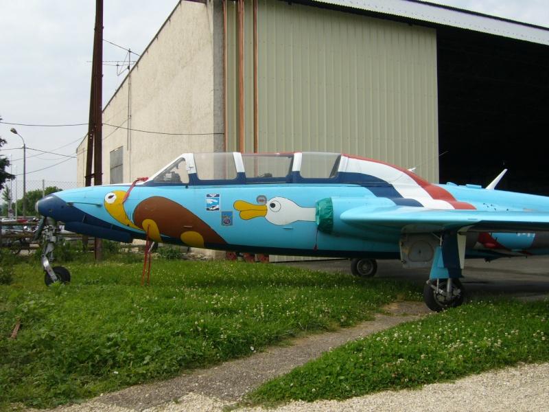 Photos d'un Fouga/zéphyr à la déco spéciale à Bergerac P1030413