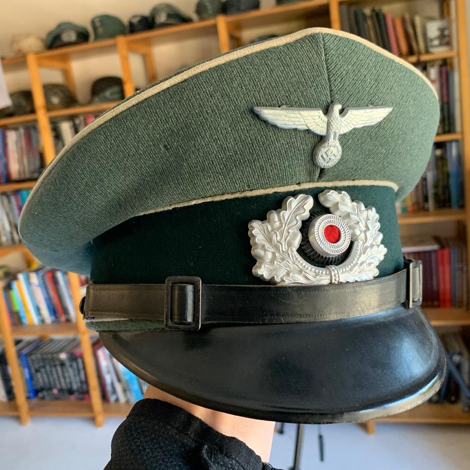 Avis sur Schirmmütze sous-officier d'infanterie Wehrmacht Img_5912