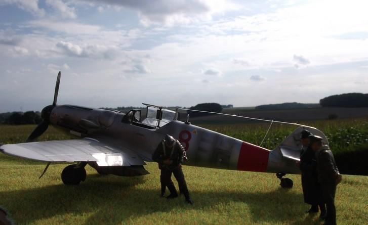 ME 109 G6 8/JG 300 kurt gabler Dscf0623