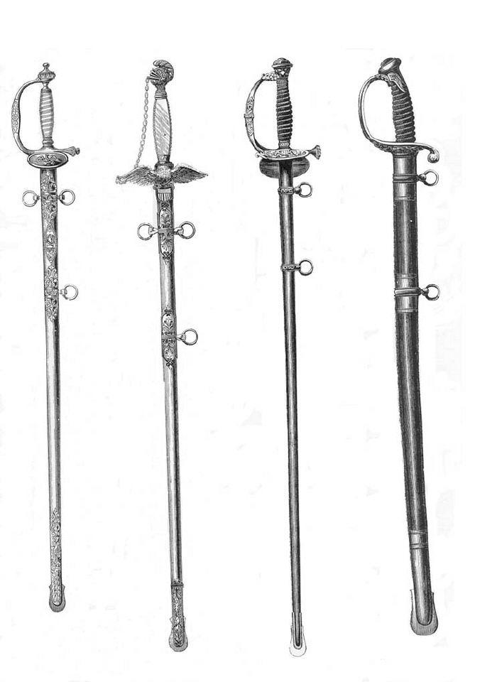epées et sabres civil war Epees_12